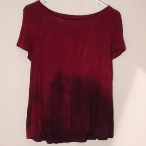 Red ombré tee: Soft & Sexy AEO